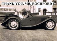 THANK YOU MR ROCHFORD
